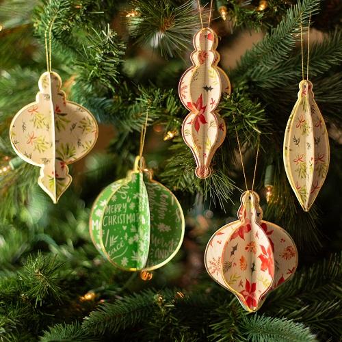 Ideias para enfeites de natal - ornamentações árvore de natal
