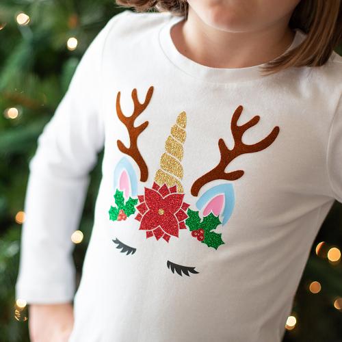 Ideias para enfeites de natal - camisa personalizada natal
