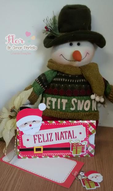 Ideias para enfeites de natal - cartão de natal artesanal