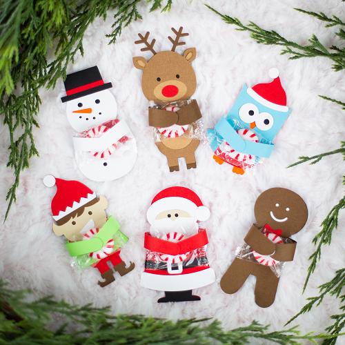 Ideias para enfeites de natal - decoração Silhouette