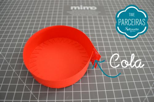 Caixa para Mini Panetone - Molde Grátis - Embalagem de natal Personalizada