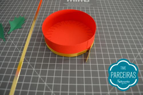 Caixa para Mini Panetone - Molde Grátis - Lembrancinha de natal