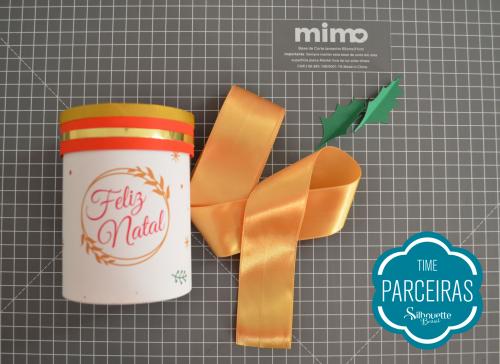Caixa para Mini Panetone - Molde Grátis - decoração embalagem de natal