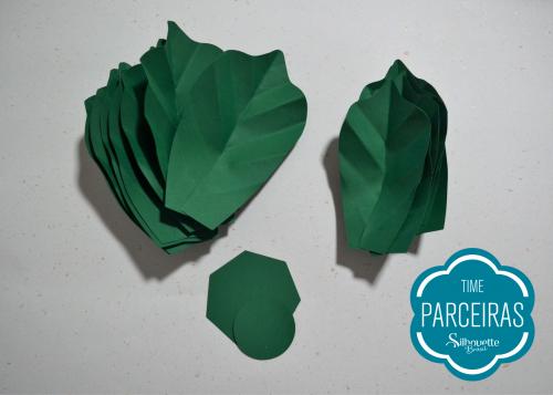 Como fazer uma árvore de natal de papel - enfeites de natal