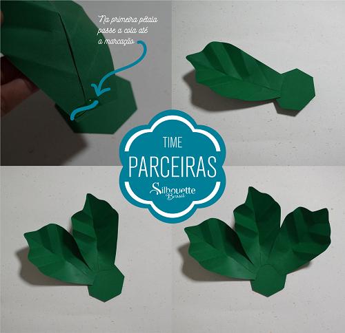 Como fazer uma árvore de natal de papel com flores gigantes