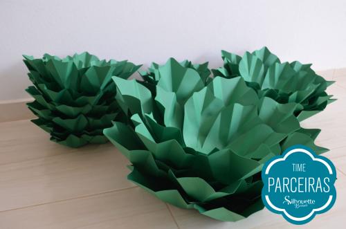 Como fazer uma árvore de natal de papel - natal decor
