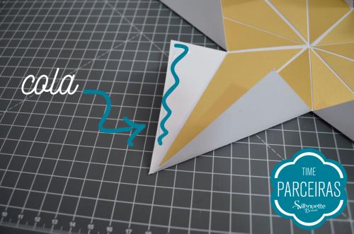 Como fazer uma árvore de natal de papel - estrela de natal de papel