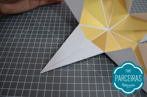 Como fazer uma árvore de natal de papel - estrela de papel para o natal