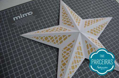 Como fazer uma árvore de natal de papel - estrela de papel natalina