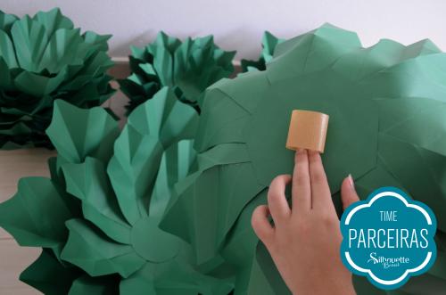 Como fazer uma árvore de natal de papel - como montar árvore de natal