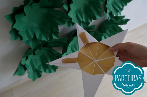 Como fazer uma árvore de natal de papel - árvore de natal  de papel