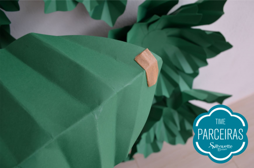 Como fazer uma árvore de natal de papel - árvore de natal para presente
