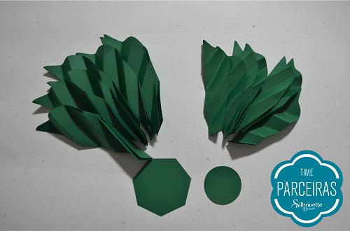 Como fazer uma árvore de natal de papel - decoração de natal