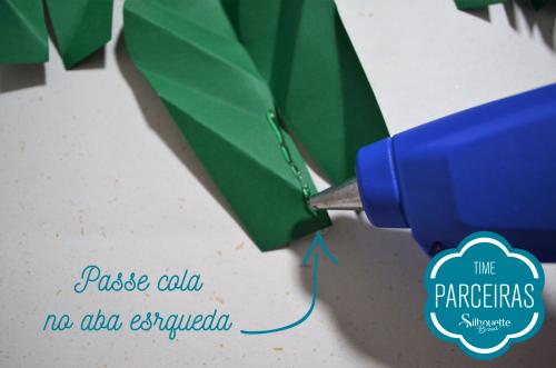 Como fazer uma árvore de natal de papel - árvore personalizada
