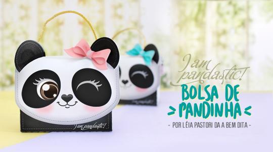 Arquivos grátis para Silhouette bolsa panda