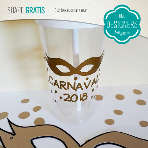 Arquivos grátis para Silhouette copo personalizado