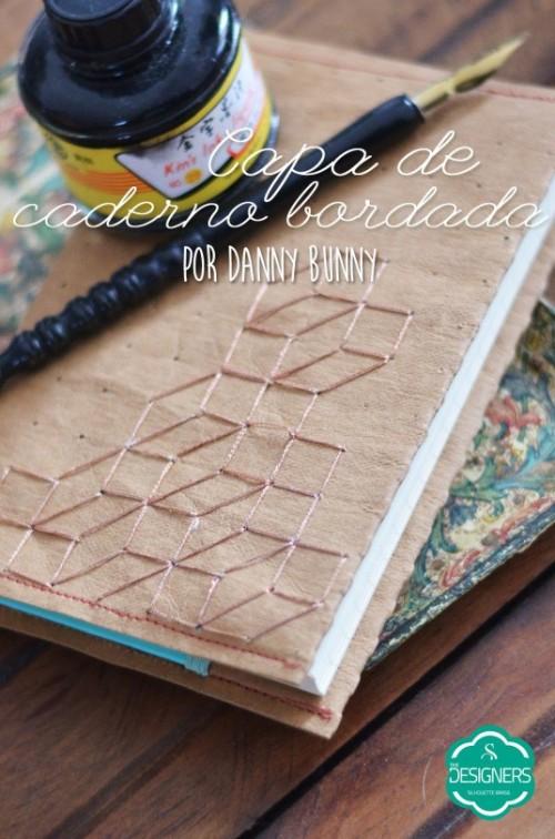 Mídias Especiais Silhouette - capa de caderno personalizada