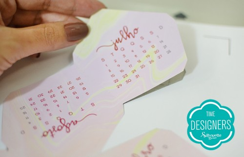 Calendário personalizado 2019 para decorar