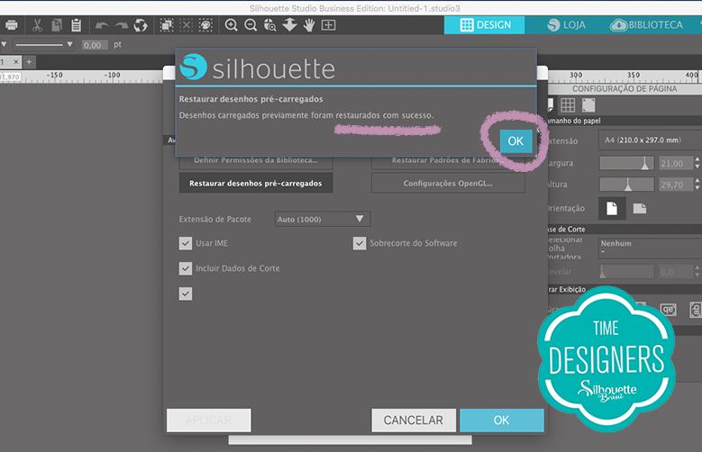 Como Recuperar Arquivos da sua Biblioteca do Silhouette Studio - biblioteca Silhouette Stúdio - download de arquivos