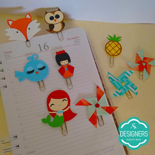 Dicas para Personalizar Material Escolar - paper clipes