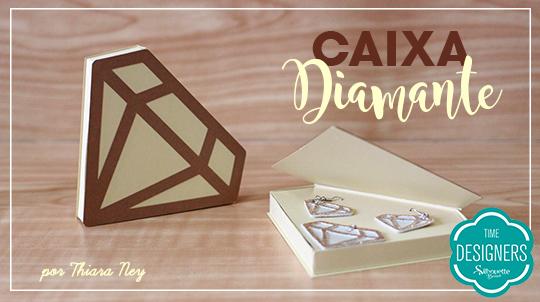 Arquivos grátis para Silhouette caixa diamante