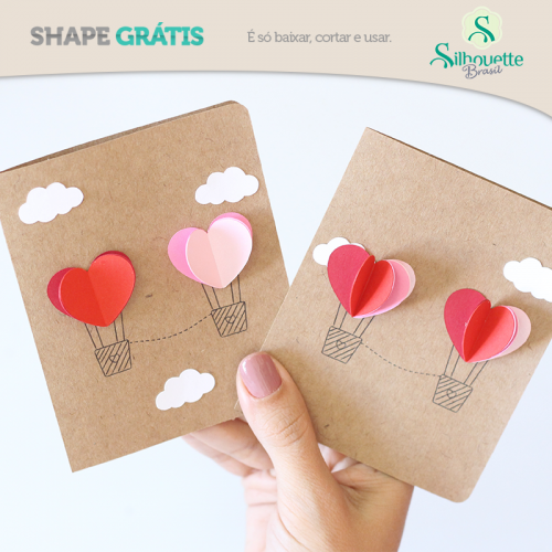 Arquivos grátis para Silhouette cartão dia dos namorados