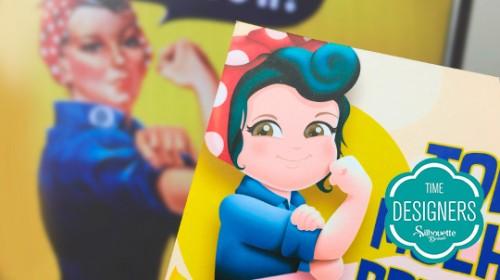 Lembrança Especial para Dia Internacional da Mulher - cartão dia da mulher