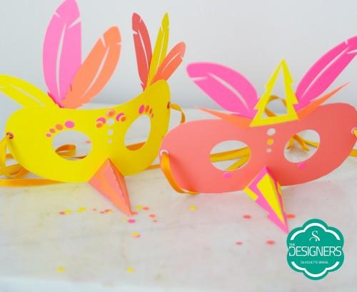 Arquivos de Carnaval para Silhouette - máscaras de carnaval personalizadas