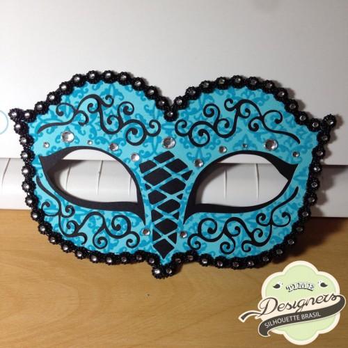 Arquivos de Carnaval para Silhouette - máscaras de carnaval rendada