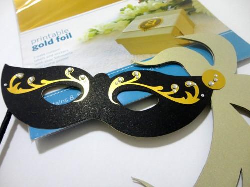 Arquivos de Carnaval para Silhouette - máscaras de carnaval com strass