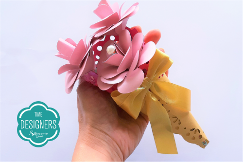 DIY Arranjo de Flores de Papel - Lembrancinha especial para o dia da Mulher