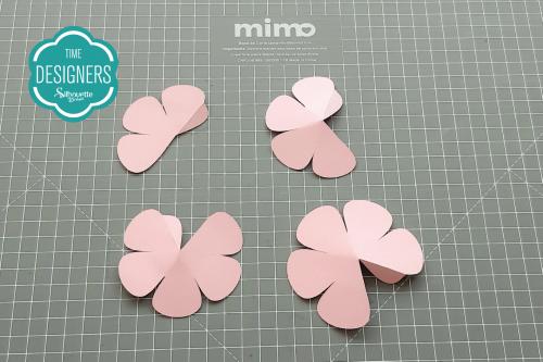 DIY Arranjo de Flores de Papel - flores de papel Lembrancinha para o dia da Mulher
