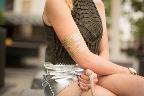 Arquivos de Carnaval para Silhouette - tatuagens temporárias metalizadas