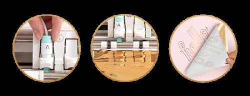 Foil Quill - como usar foil quill na silhouette