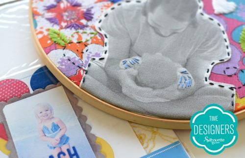 Personalizando tecidos com a Silhouette - como personalizar tecidos