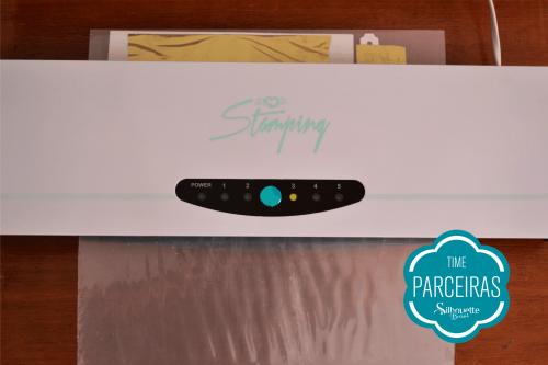Como Fazer Hot Stamping - convite com hot stamping