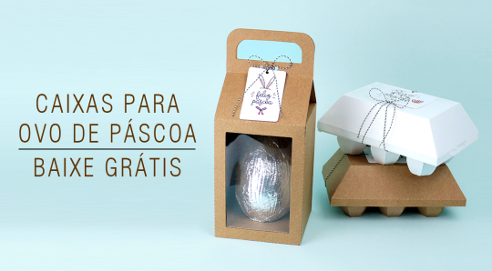 Arquivos Grátis de Páscoa para Silhouette - Caixa para ovo de páscoa