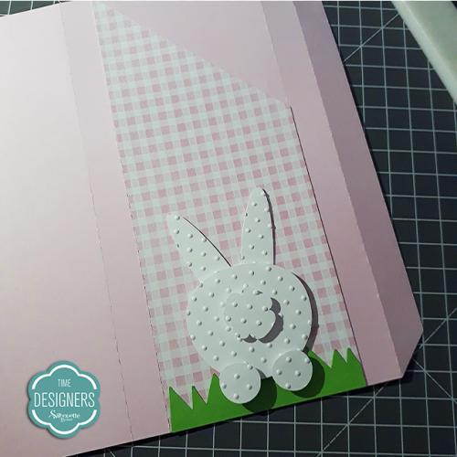 Embalagem para Barra de Chocolate - caixinha com coelho personalizado