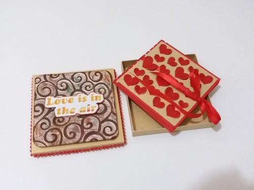 Cinco Ideias para o Dia dos Namorados - cartão personalizado para o dia dos namorados