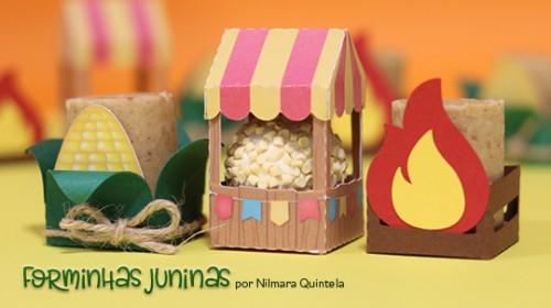 Cinco Ideias para Festa Junina - forminhas para doces