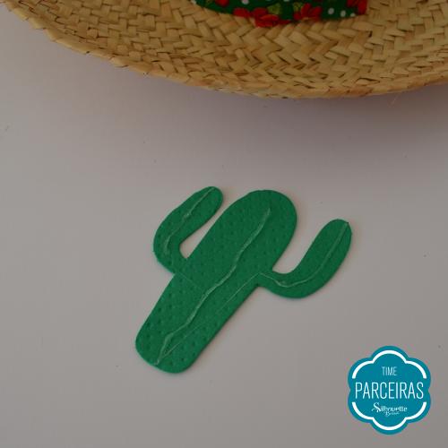 Colando Cactos - Chapéu de Palha Personalizado - Diy Festa Julina