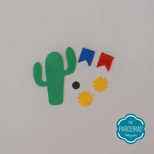 Enfeites Cortados - Chapéu de Palha Personalizado - DIY Festa Julina