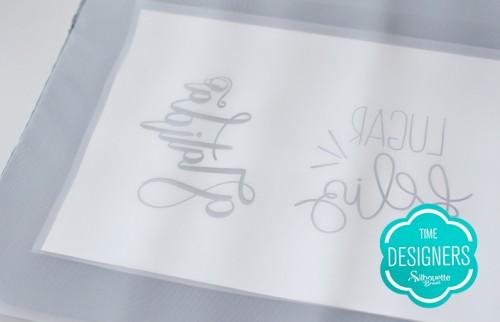 Como Fazer Pintura com Stencil: Passo a Passo - Aplicando o transfer na tela