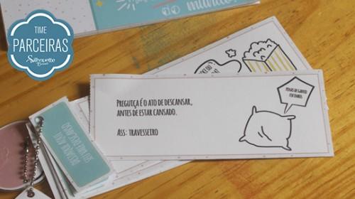 Presente para Amigo - DIY com Molde Grátis - Frase engraçadinha
