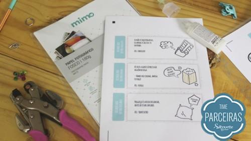 Presente para Amigo - DIY com Molde Grátis - Materiais