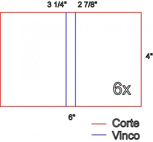 Medidas para Corte na Base: Como Fazer Vinco - DIY Mini Álbum de Scrapbook