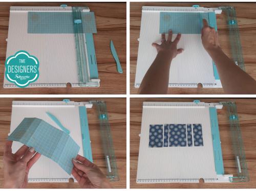 Vincando Áreas de Corte: Como Fazer Vinco - DIY Mini Álbum de Scrapbook