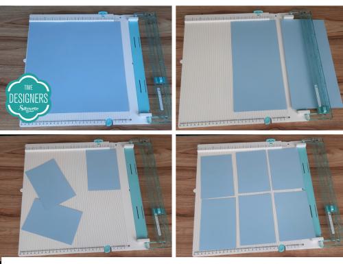Cortando Papel na Base: Como Fazer Vinco - DIY Mini Álbum de Scrapbook