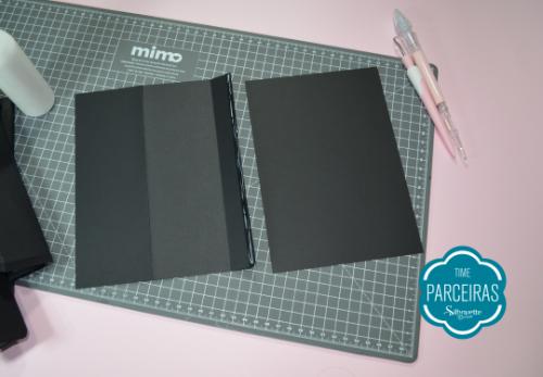 Quebra Cabeça Brilha no Escuro - DIY com Shape Grátis - Retângulos que formarão a capa da Caixa Tablet