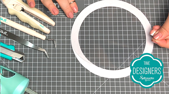Como Fazer Topo de Bolo com Shaker na Silhouette - DIY - Acetato